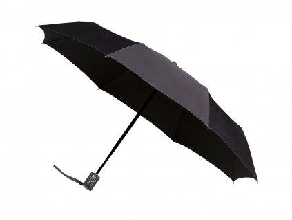 Plně automatický unisex deštník černý