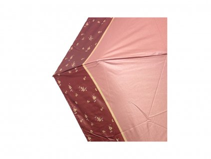 Cachemir Strip & Flower skládací dámský mini deštník