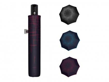 Luxusní dámský plně automatický deštník