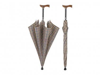 RSQ1912 Walking Stics Cuadros QB vycházková hůl s deštníkem