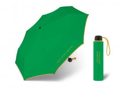 zelený deštník s.Oliver