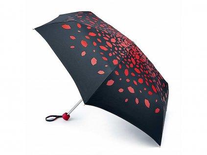 fulton damsky skladaci destnik lulu guinness minilite 2 raining lips l869
