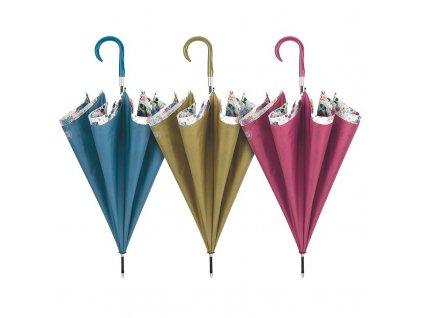Cachemir Double Cover Floral luxusní dámský deštník s dvojitým potahem
