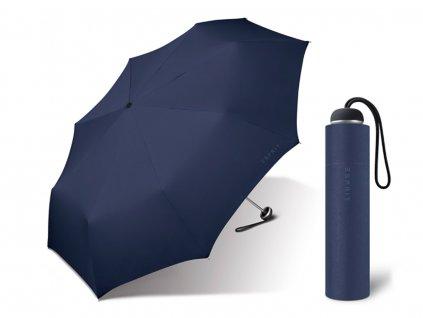 Esprit dámský skládací mini deštník modrý