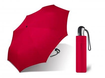 dámský červený deštník esprit