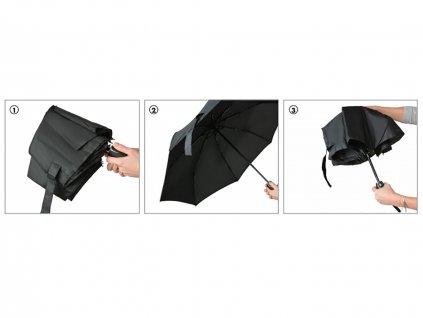 ESPRIT Red dámský plně automatický skládací deštník