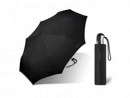 ESPRIT Black plně automatický skládací deštník