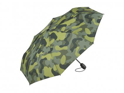 aoc mini taschenschirm fare camouflage oliv kombi 5468 artfarbe 1129 master XL