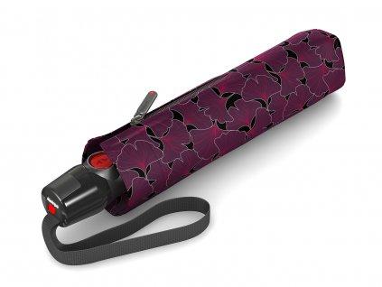 Luxusní dámský plně automatický deštník Knirps
