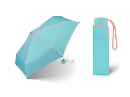 Dámský mini deštník Esprit Color Pop aqua coral