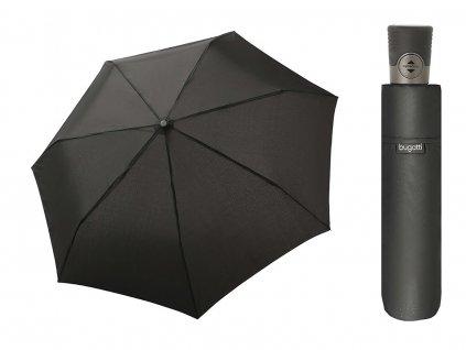 Bugatti Take It Duo pánský skládací plně automatický deštník černý