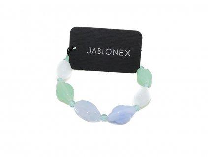 Skleněný náramek Jablonex