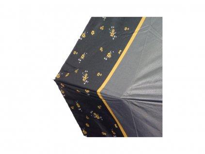 Dámský plně automatický deštník Cachemir Strip Flower
