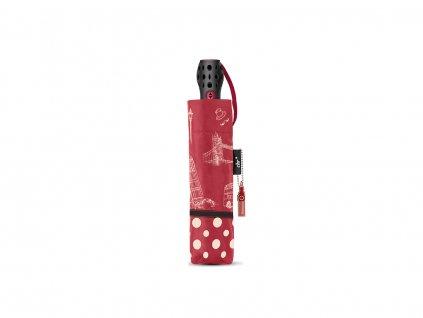 Cachemir Paris & London dámský plně automatický skládací deštník