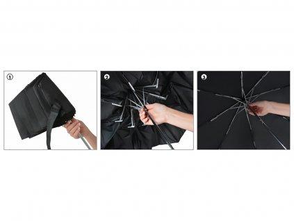 plochý skládací mini deštník doppler