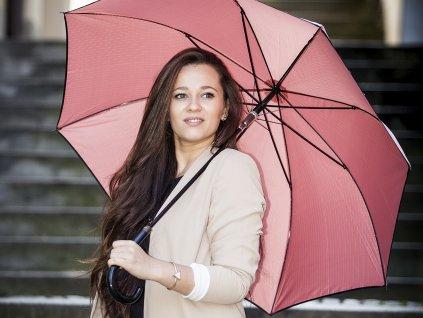 Cachemir Metalic dámský holový deštník