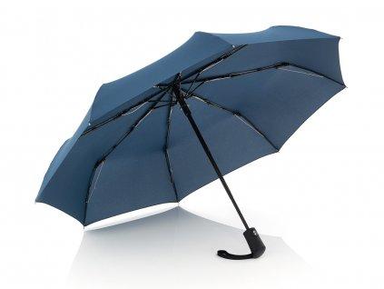 Doppler Magic FLIPBACK modrý unikátní pánský plně automatický deštník  + dárková krabička