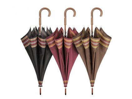 RSQ1912 Border luxusní pánský holový deštník s dřevěnou rukojetí  + nad 1 500 Kč doprava zdarma