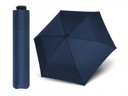 Doppler Zero 99 tmavě modrý ultralehký skládací mini unisex deštník