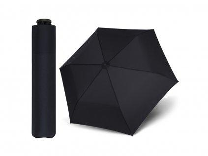 Doppler Zero99 černý unisex ultralehký skládací mini deštník