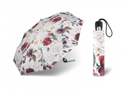 Dámský květinový deštník Pierre Cardine Easymatic Pivoine