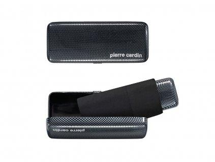 Pierre Cardin MYBRELLA CARBON pánský mini deštník v krabičce