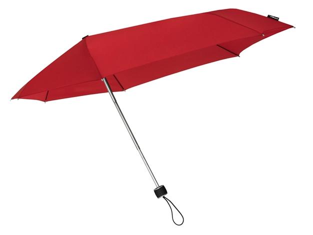 STORMini Red aerodynamický větruodolný deštník Barva: Červená