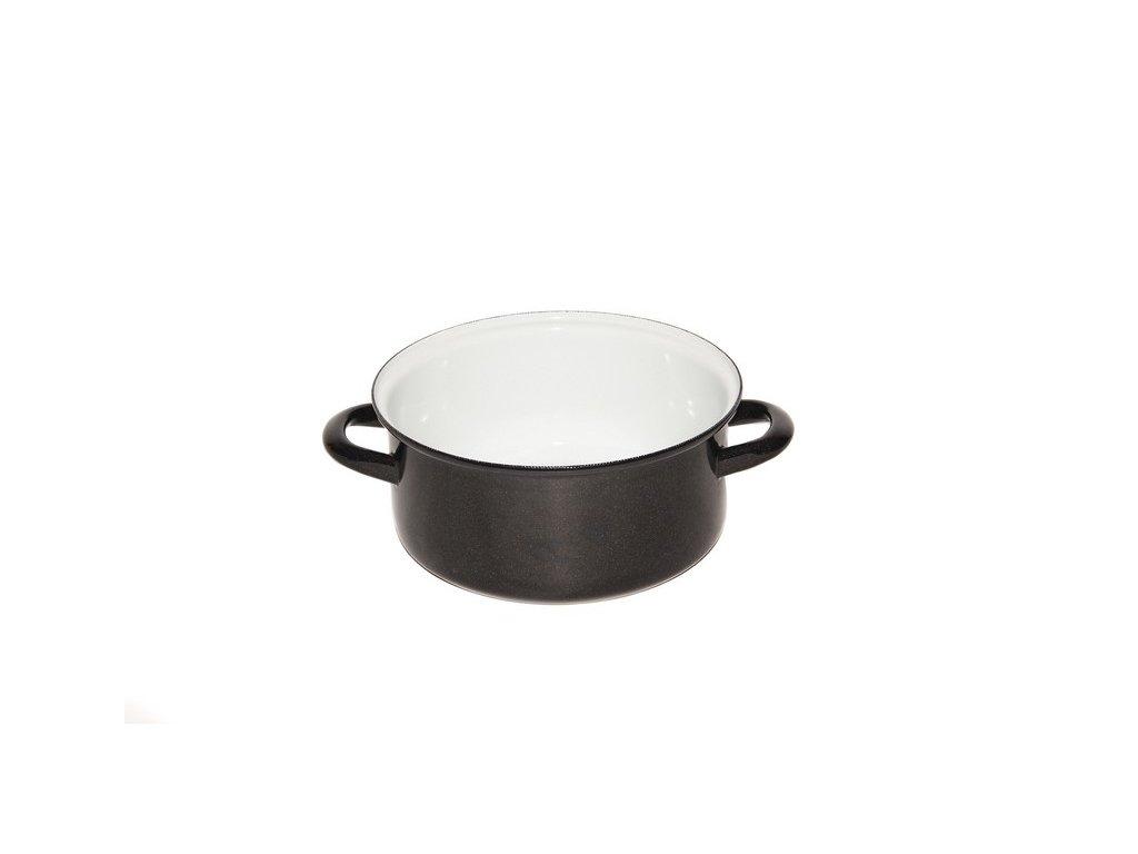 Belis/Sfinx Smaltovaný rendlík Standard, průměr 24 cm, objem 4,5 litrů, síla plechu 1,2 mm