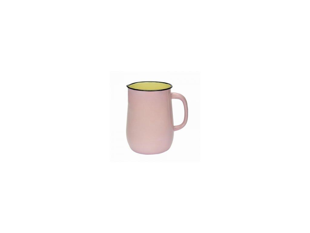 Belis/Sfinx Smaltovaný džbán 2,5l růžový