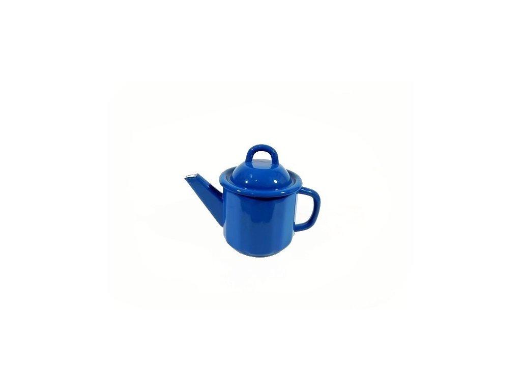 Smaltovaná konvice Belis/Sfinx, indigová modř, 1,0 l