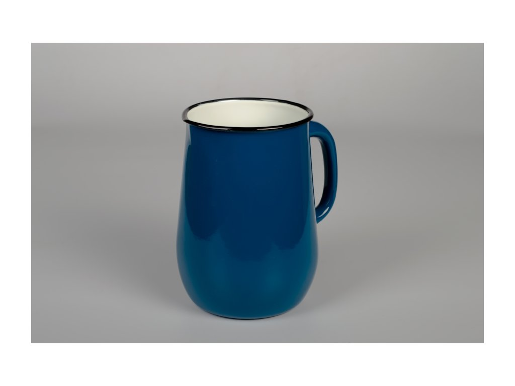Smaltovaný džbán Belis/Sfinx, modrý, 2,5 l