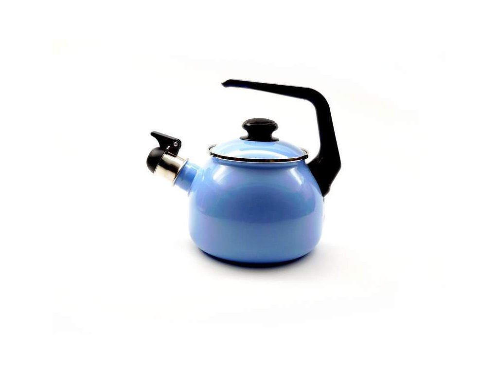 Smaltovaný čajník Belis/Sfinx, světle modrý, 2,5 l