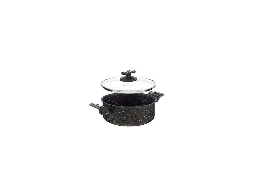 KOLIMAX BLACK GRANITEC rendlík s poklicí 22cm 3,0l