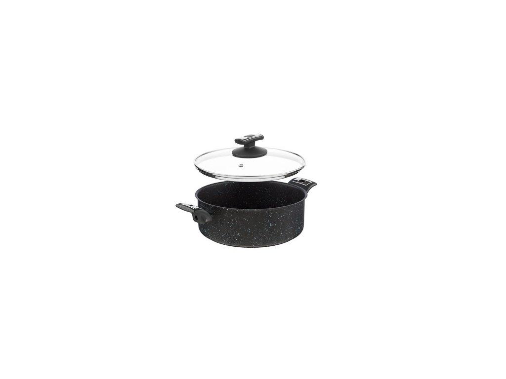 KOLIMAX BLACK GRANITEC rendlík s poklicí 26cm 4,5l