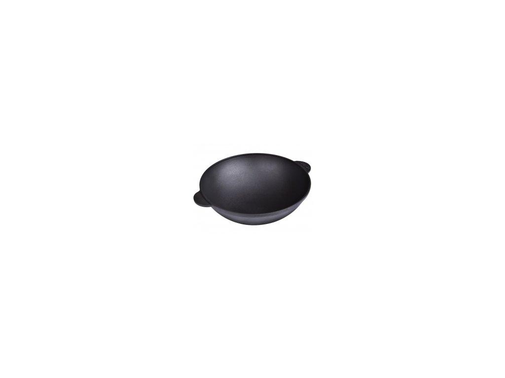 Belis/Sfinx Litinová pánev/zapékací mísa BRIZOLL WOK 28 cm, výška 10 cm