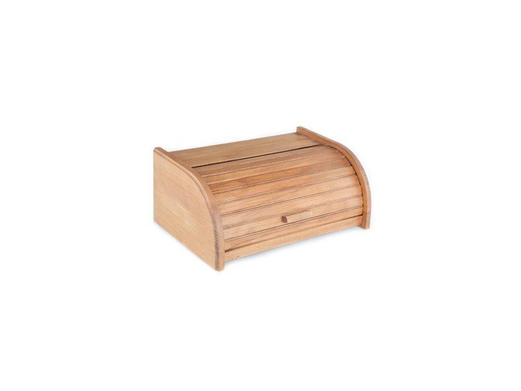 KOLIMAX Dřevěné výrobky box na pečivo 42 cm buk, barva oranž