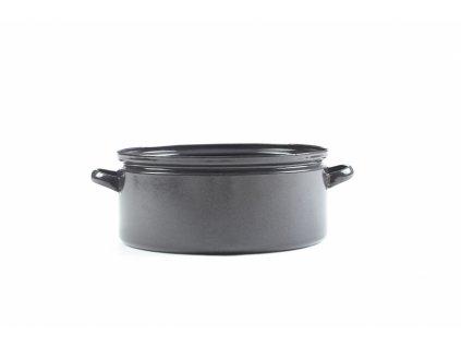 Belis/Sfinx Smaltovaný gastro rendlík průměr 36 cm, objem 16 litrů, síla plechu 0,8 mm, výška 15,9 cm