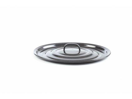 Smaltovaná gastro poklice Belis/Sfinx, 32 cm, síla plechu 0,8 mm