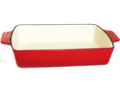 Belis/Sfinx Smaltovaný, litinový pekáč Queen line, průměr 30 cm, objem 2,6 litrů, váha 3 kg