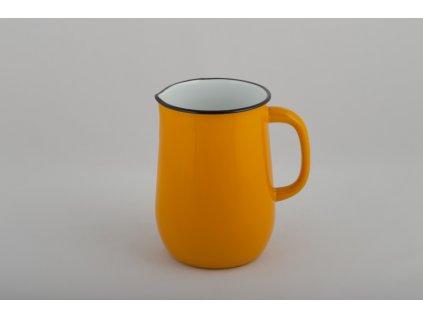 Smaltovaný džbán Belis/Sfinx, žlutý, 2,5 l