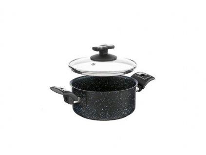 KOLIMAX BLACK GRANITEC rendlík s poklicí 18cm 2,0l