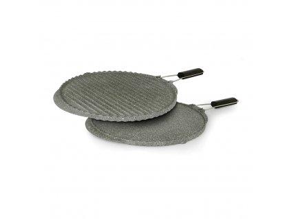 Oboustranný grill Flonal MONOLITE ITALIANO - silnostěnný, 28 cm