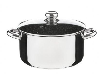 KOLIMAX CERAMMAX PRO STANDARD hrnec s poklicí 26cm 6,0l, granit černá