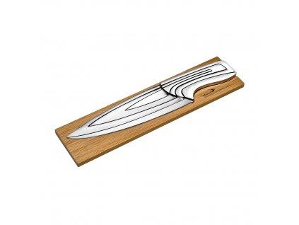 Designová sada nožů DÉGLON MEETING 4 kusy na bambusové základně