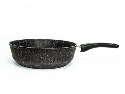 Pánev vysoká PROTITAN linie Granit, černá, neindukční, 24 x 7 cm