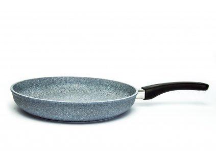 Pánev na omelety PROTITAN linie Granit, šedá, neindukční, 28 x 5 cm