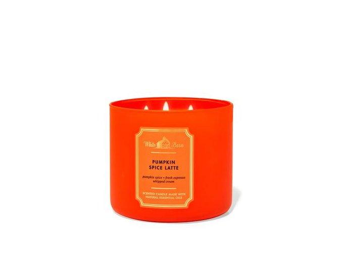 pumpkin spuice latté bbw vonná svíčka