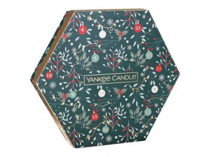 yankee candle darkova sada cajovych svicek se svicnem 18 x 9 8 g z naší kredence