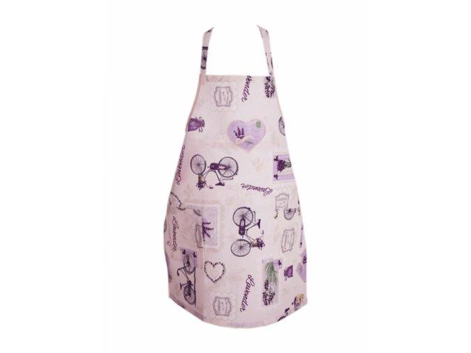 Kuchyňská zástěra Lavender