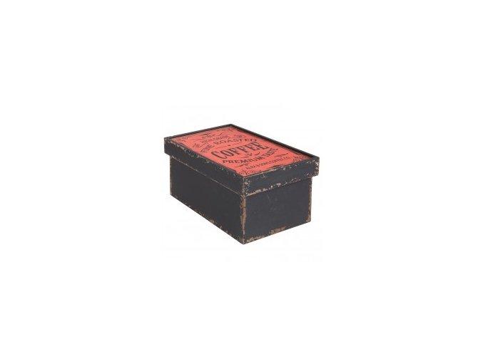 dreveny box coffee 221311 cm